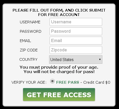 Podvod - karta pro ověření věku
